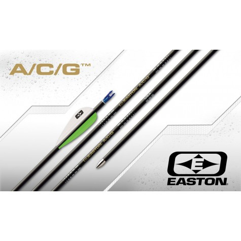 Easton ACG Finished Arrows with Breakoff Points and Pin Nocks (per 8) : ES59Carbon ArrowsES593F8
